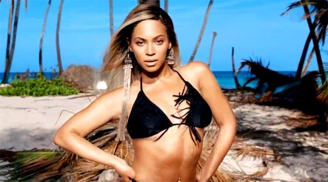 Beyoncé as Mrs Carter