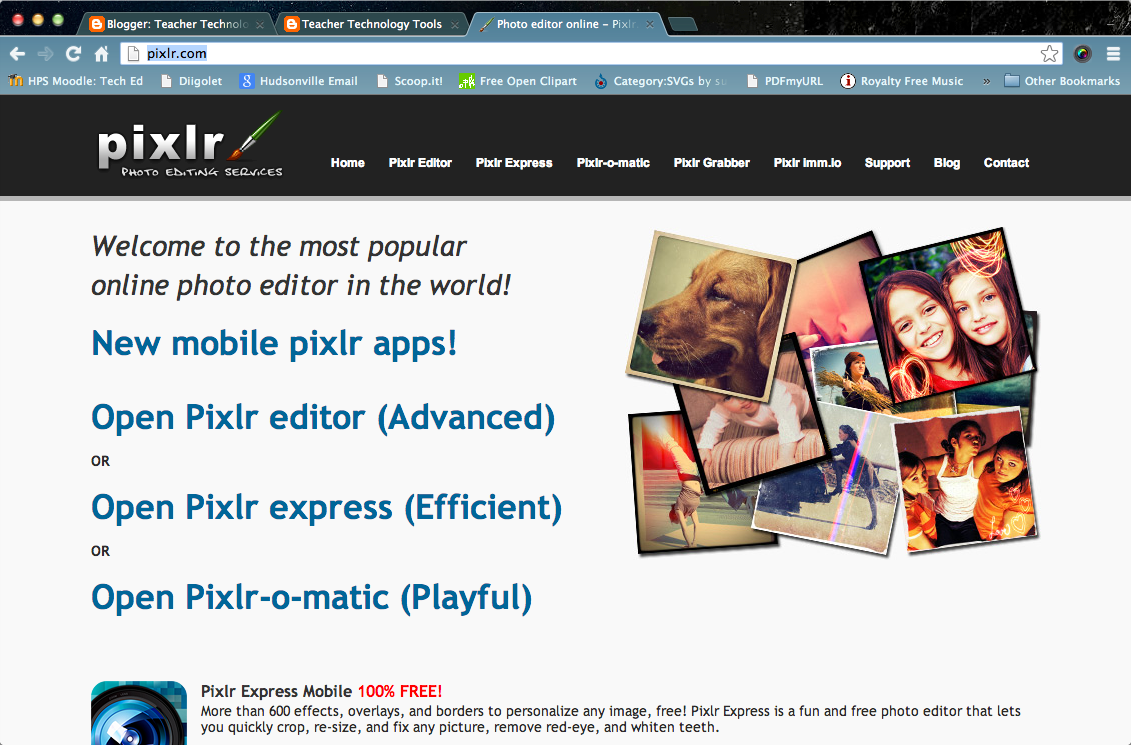 Pixlr Online Editor
