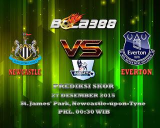 Agen Bola Terpercaya : Prediksi Skor Newcastle United Vs Everton Fc 27 Desember 2015