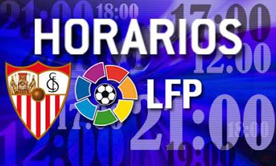 horarios de los partidos de futbol de primera division: