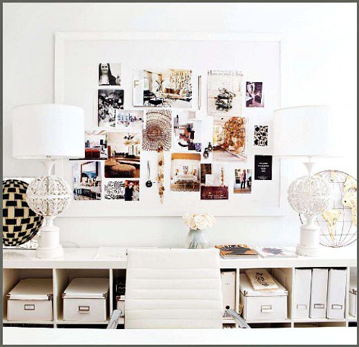 Great Decorating Ideas For Your Home Office by Every Thing Fab
