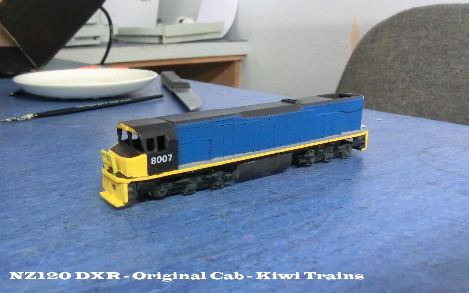 Sexy model railroad