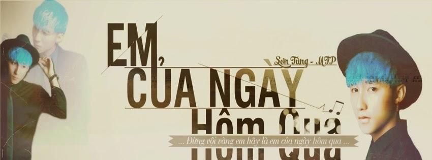 ải ảnh bìa Sơn Tùng M-TP đẹp nhất cho Facebook.