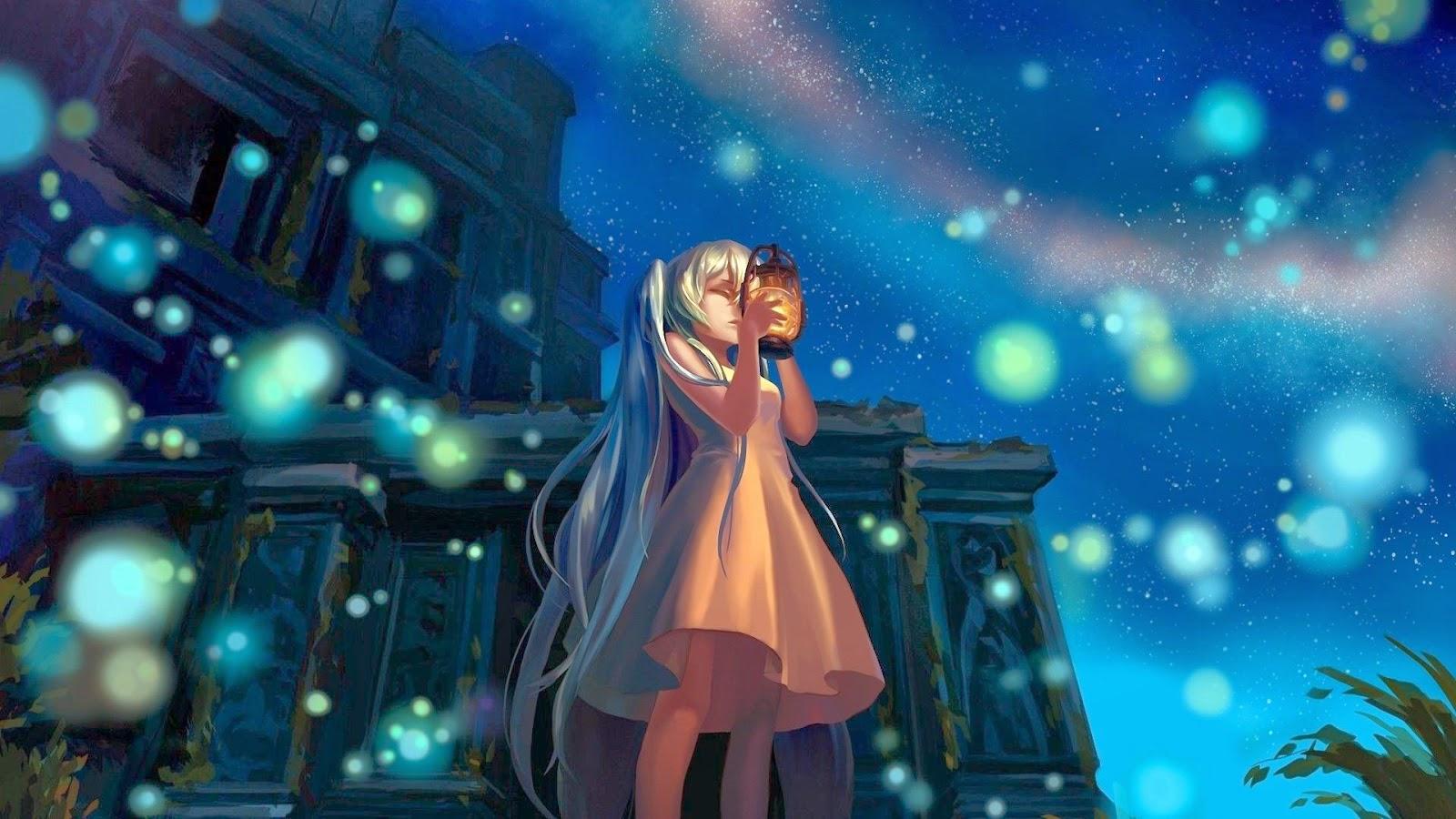 Hatsune Miku - Vocaloid Desktop Wallpaper