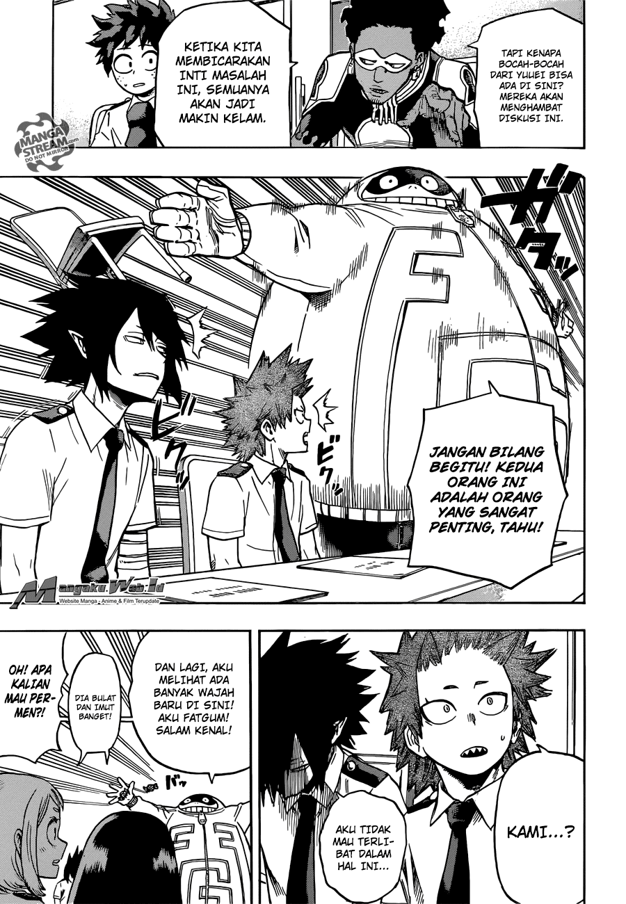 Boku no Hero Academia Chapter 135-7