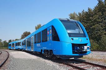 El primer tren alimentado por hidrógeno entrará en servicio en Alemania dentro de un año