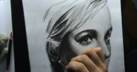 Rachel McAdams sketch - Drawing Portrait - Video Lessons ...