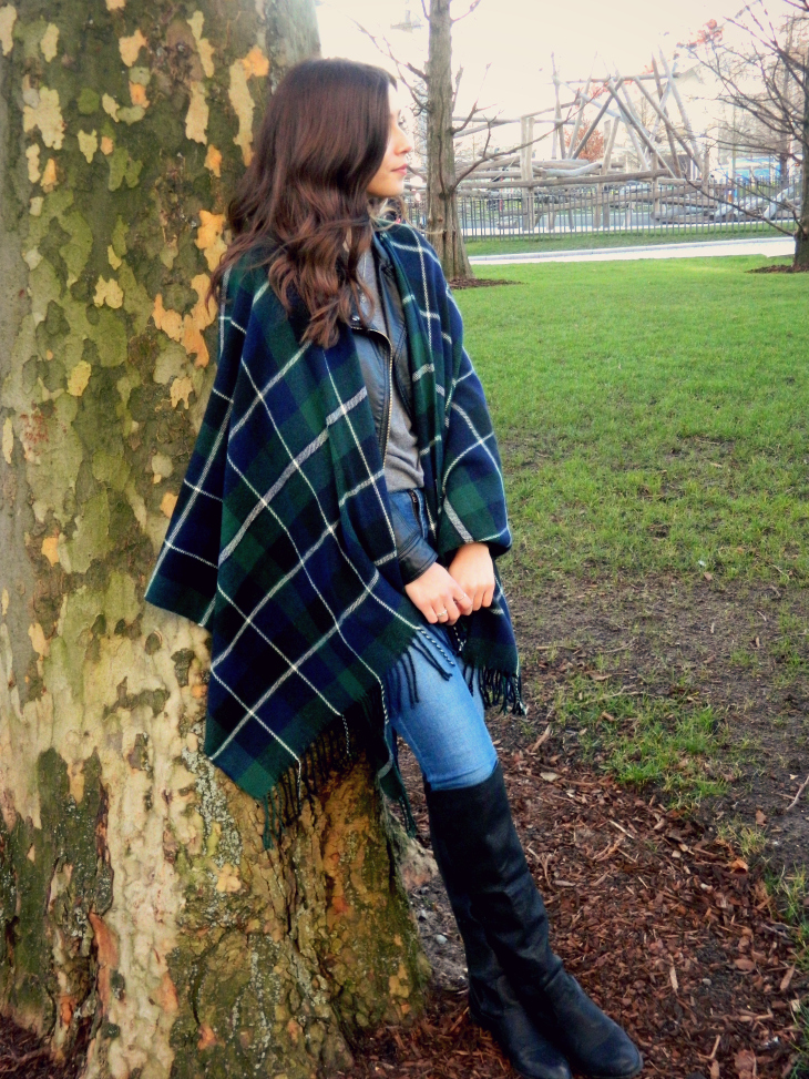 Love From Lisa New Look Tartan Blanket Wrap