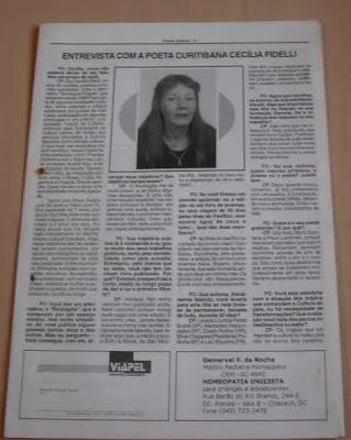 FRONTE CULTURAL - SC - 1999