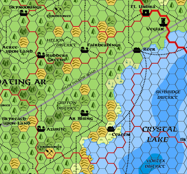 Mystara Alphatia Ar Griffon Map