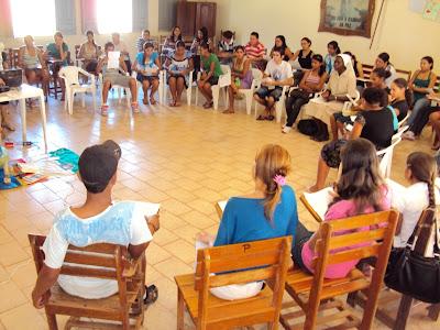 Encontro de Formação da JM na Diocese de Rio Branco/AC