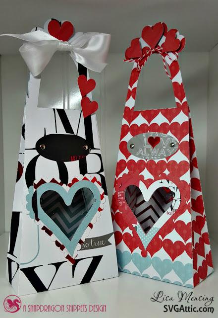 SVG Attic JGW Sweetest Heart Heart Window Tall Tote