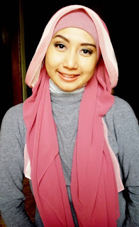 model hijab Igo Cantik dewasa