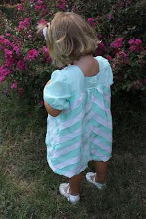 Bais Tape Cheveron Dragonfly Dress