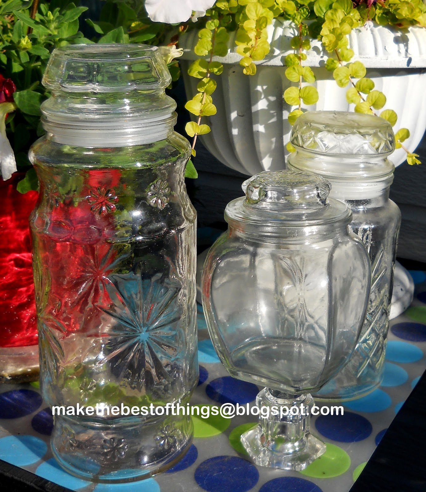 Solar Jars Make The Best Of Things Diy Apothecary Jar Solar Light