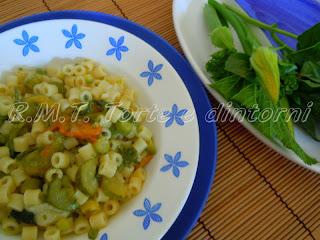 "Tubetti  ""c' 'a minestrell' e zucchini"""