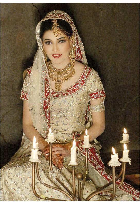 White indian bridal dresses for White indian wedding dress