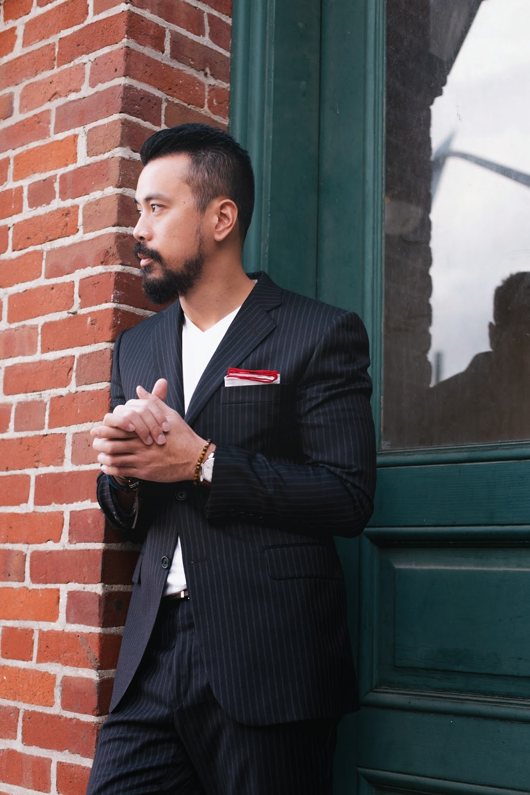 men's suit style