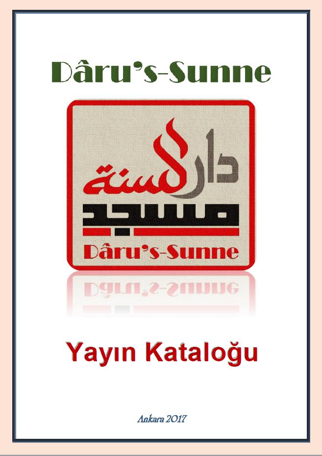 Dâru's-Sunne Yayın Kataloğu