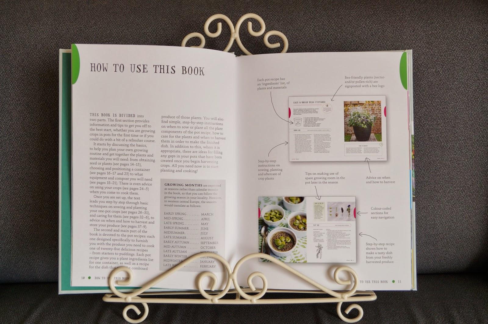 'the one-pot gourmet gardener' book (3) ~ growourown.blogspot.com