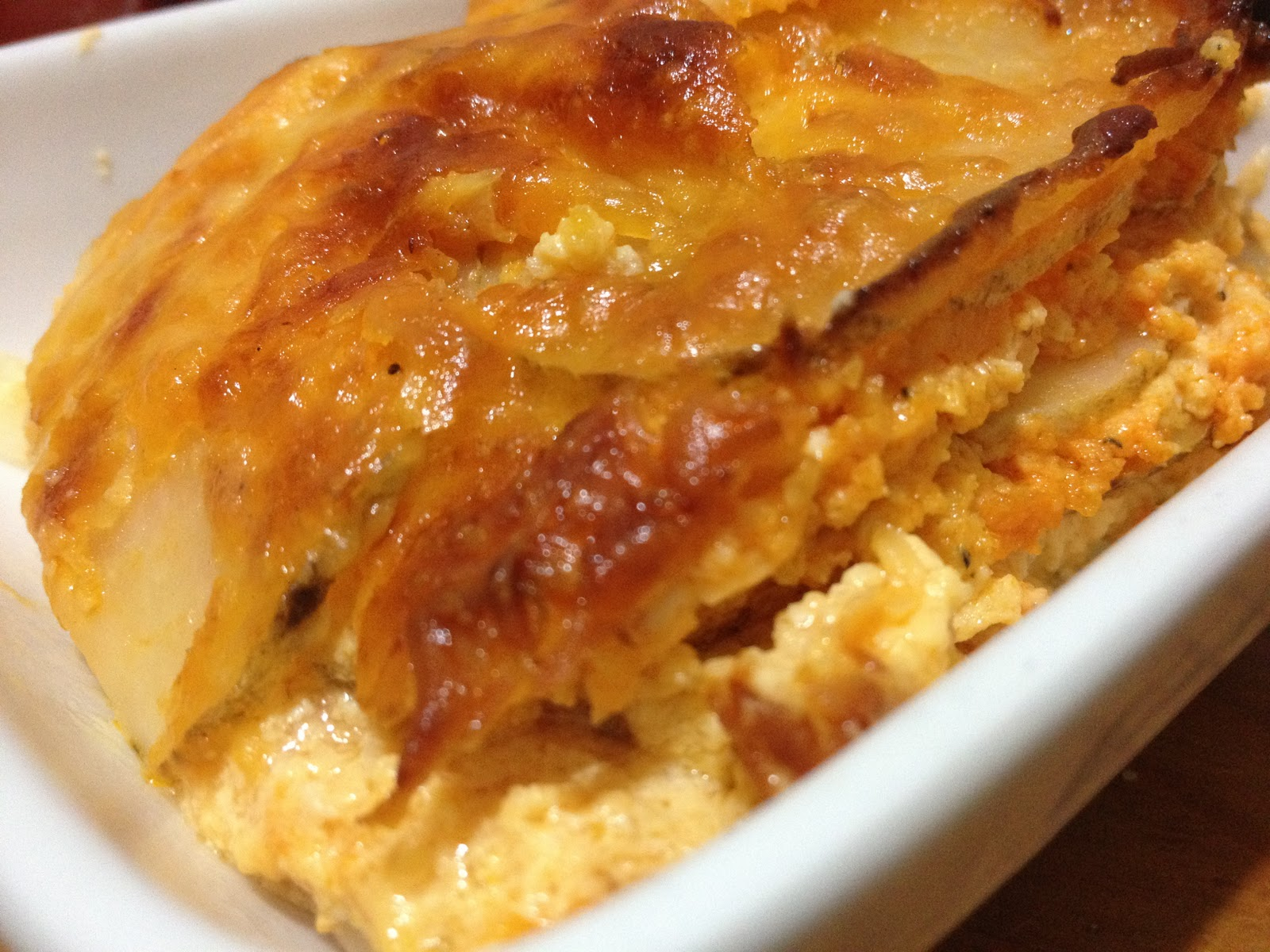 buffalo cheddar potato au gratin what you need 6 potatoes sliced paper ...