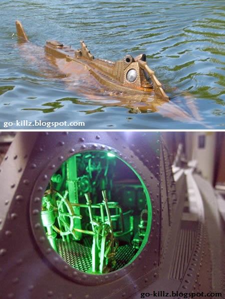 RC Steampunk Nautilus Submarine