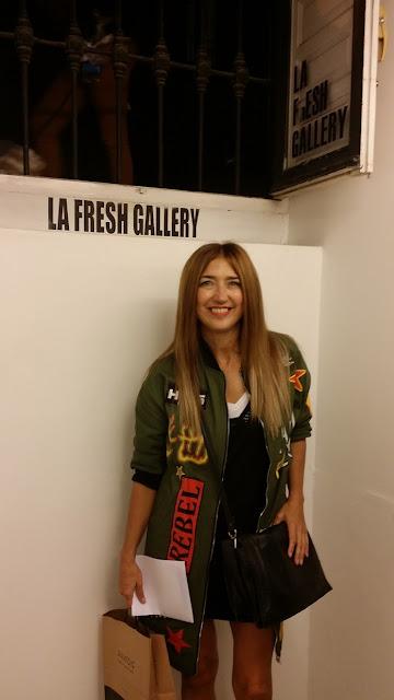 Carmen Hummer en la Fresh Gallery