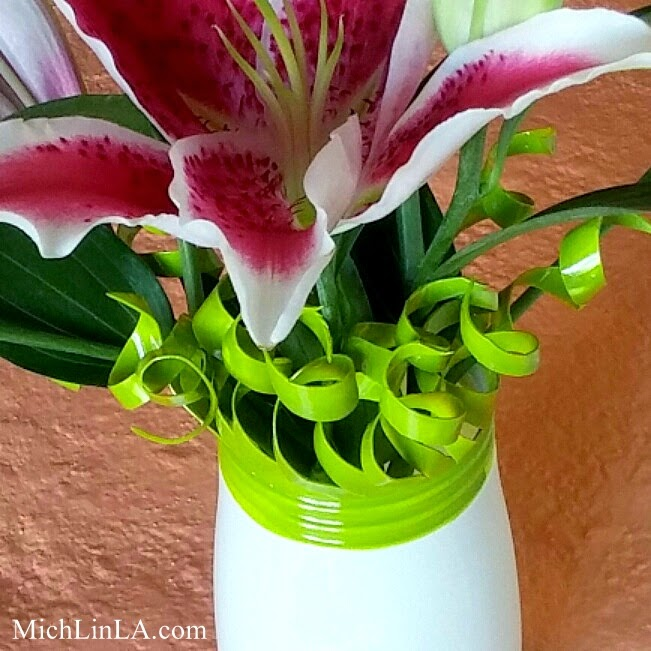 Mich L In La Tender Tendrils Upcycled Vase Tutorial