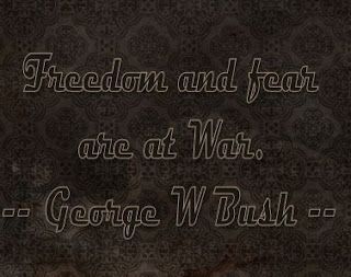 Bush - Freedom and Fear