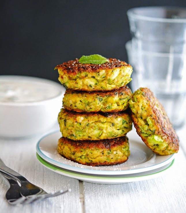 Creamy Greek Zucchini Patties (Low Carb & Gluten-Free)