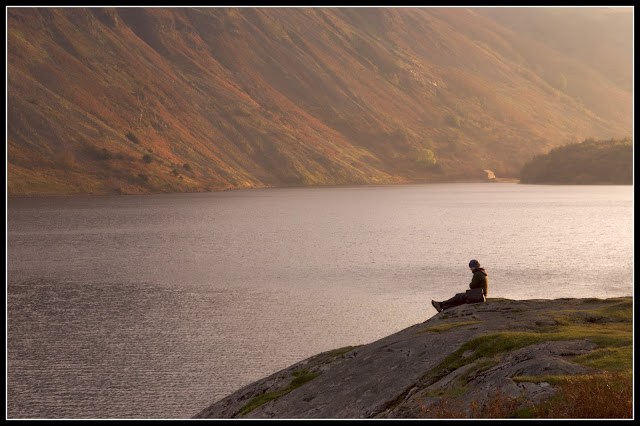 Solitary man lake