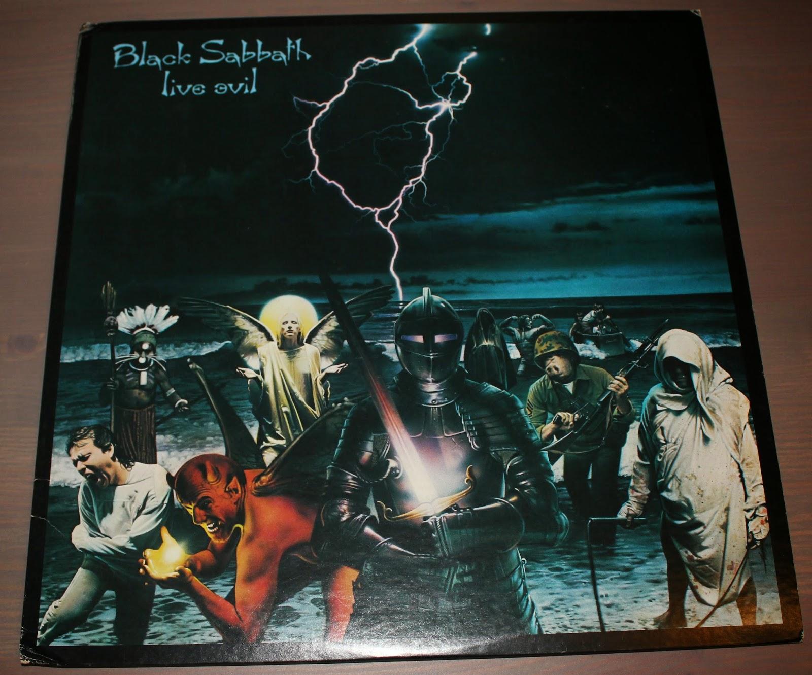 BLACK SABBATH Live Evil