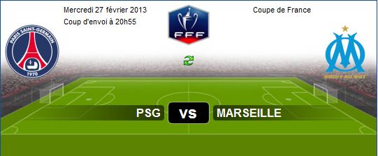 aljazzera sport +4 : Regarder Match En Dirct sur Aljazeera sport PSG vs Marseille Le 27-02-2013
