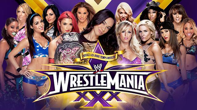 las divas se enfrentan en el evento más importante de todos los tiempos, el campeonato de las divas de vicky guerrero en wrestlemania