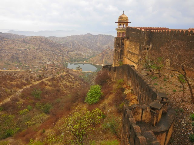 Jaigarh fort - the most spectacular of the three-hilltop forts in Rajasthan