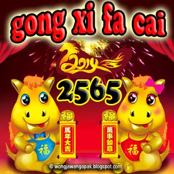 dp bbm Happy Chinese New Year 2014 horse 2565