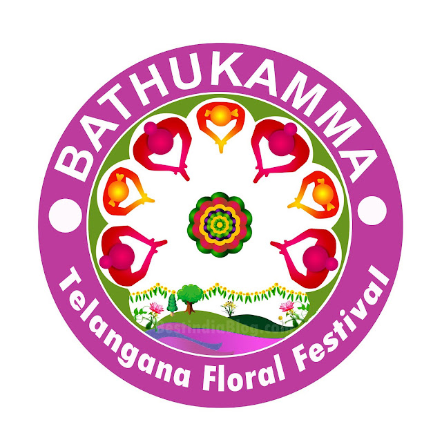 bathukamma logo