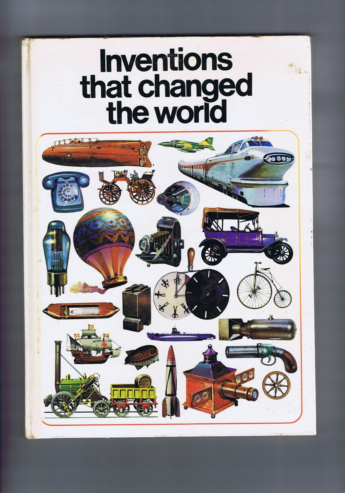 Book intervention project inventions that changed the world 2010