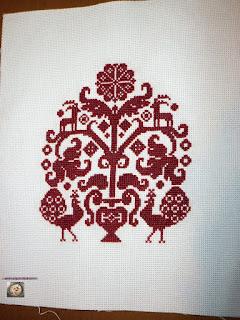 Вышивка дерево жизни схема 73
