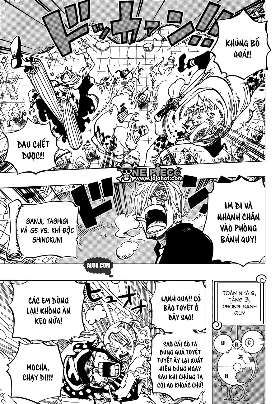 One Piece Chapter 685: Tên tôi là Momonosuke! 017