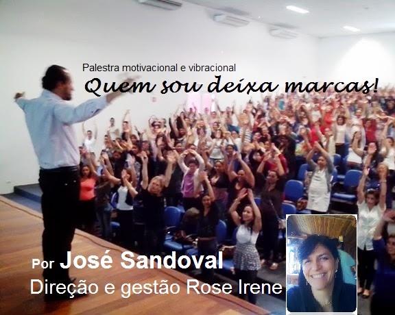 """Escritor e palestrante  José Sandoval -  Porque: """"Quanto mais humano, melhor!"""""""