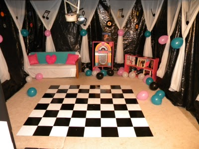 Kandy Kreations: Sock Hop Fifties Birthday Party