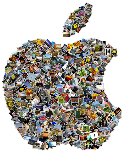 Collage Apple Logo