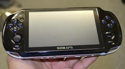 yinlips 'PSP' com Android até que não é má ideia