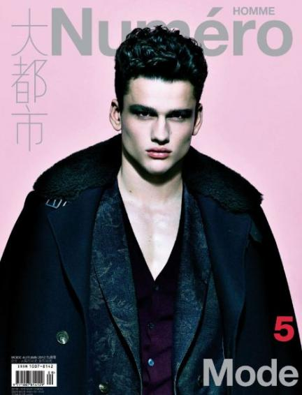 Numéro Homme China September Issues