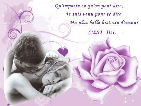 mots d amour et phrase romantique mots d amour et phrase romantique ...