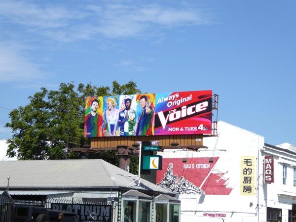 The Voice season 9 billboard