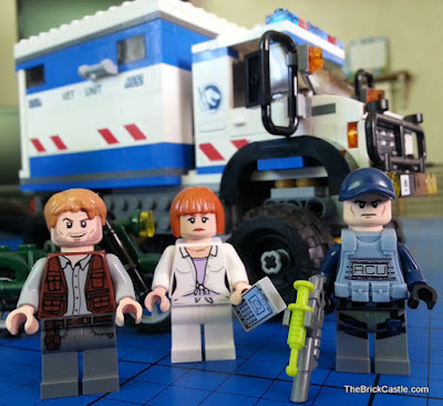 Jurassic World LEGO Minifigures Clare Owen ACU Trooper