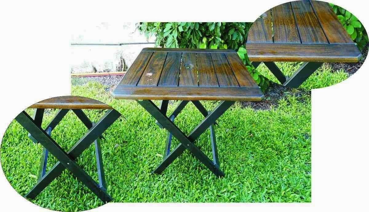 Muebles de madera para exteriores