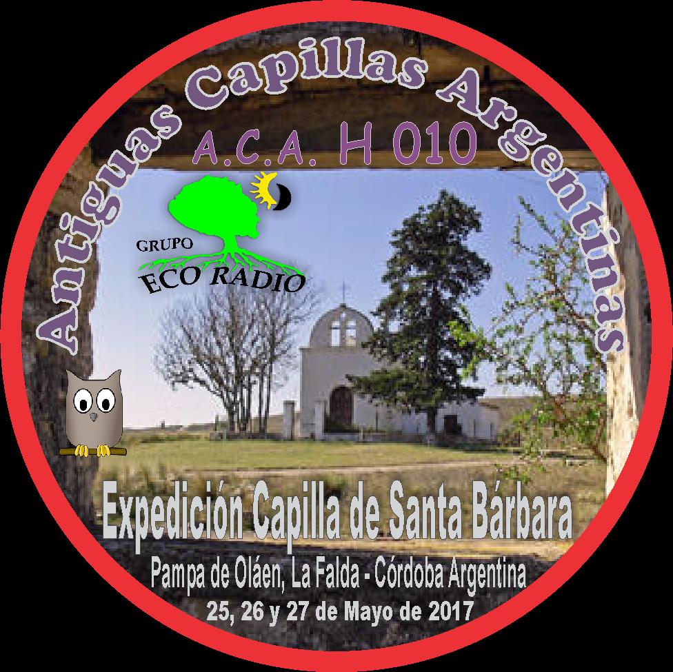 PIN Expedición Capilla de Santa Bárbara